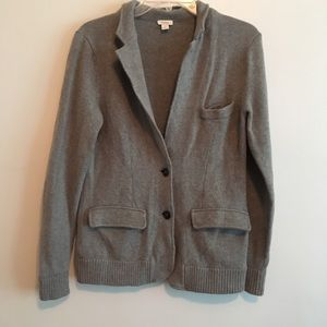 Fossil sweater wool blazer medium